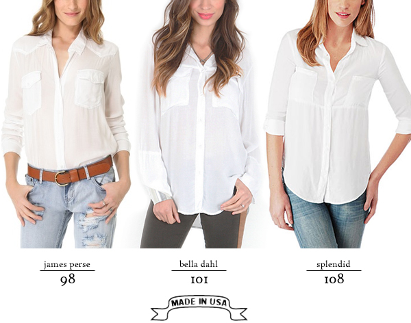 white blouse roundup