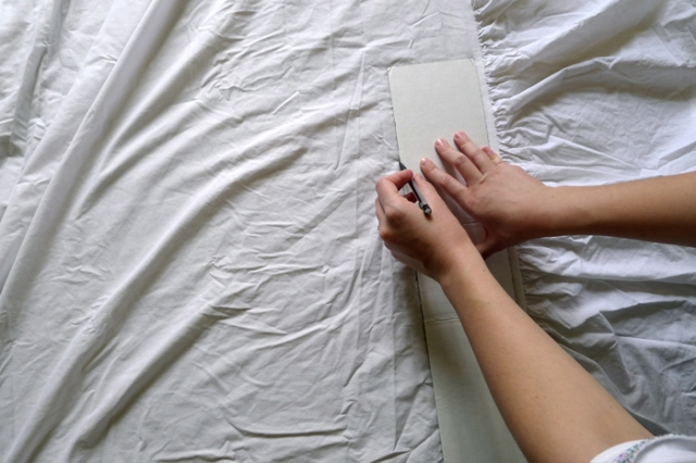 diy bedskirt 2